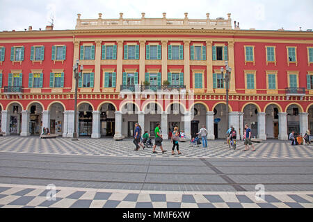 Shopping center Lafayette, Place Masséna, Nice, Côte d'Azur, Alpes-Maritimes, South France, France, Europe - Stock Photo