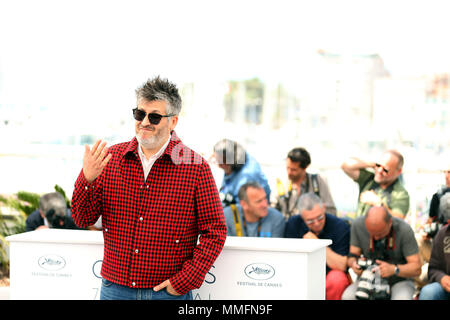Cannes, France. 11th May, 2018. Director Christophe Honore attends the photocall for 'Sorry Angel (Plaire, Aimer Et Courir Vite)' during the 71st annual Cannes Film Festival at Palais des Festivals in Cannes, France, on May 11, 2018. Credit: Luo Huanhuan/Xinhua/Alamy Live News - Stock Photo