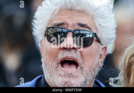 Cannes, France. 11th May 2018. Pedro Almodova Ector Ash Is The Purest White. Premiere. 71 St Cannes Film Festival Cannes, France 11 May 2018 Dja848 71 St Cannes Film Festival Credit: Allstar Picture Library/Alamy Live News - Stock Photo
