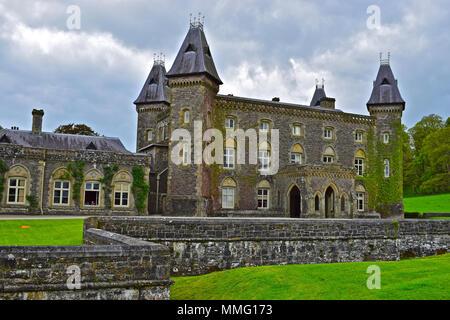 Newton House, Llandeilo, W.Wales - Stock Photo