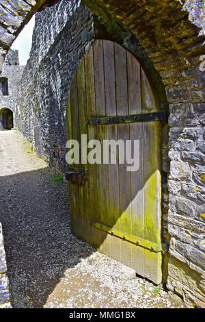 Dynevor  Castle, Llandeilo, Carmarthenshire - Stock Photo
