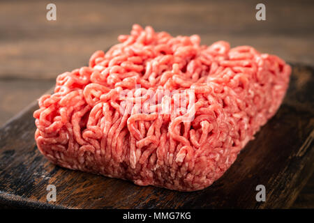 Fresh raw beef minced meat - Stock Photo