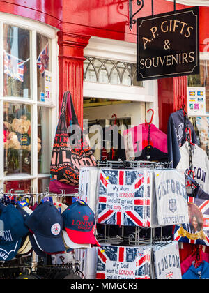 Royal Gift Shop, Windsor, Berkshire, England, UK, GB. - Stock Photo