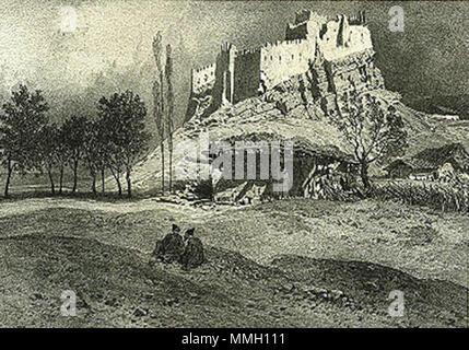 . Français: Cartalinie. Chateau de Souram (1847) English: Kartli. The castle of Surami (1847) ქართული: გ. გაგარინი. სურამის ციხე. 1847 წ.  . Published 1847  Uploaded: 30 January 2010, 20:12 (UTC)  .  Gagarin. Souram. 1847.jpeg:    Grigory Gagarin (1810–1893)   Alternative names Grigory Grigorievich Gagarin  Description Russian artist, diplomat, iconographer and painter  Date of birth/death 11 May 1810 30 January 1893  Location of birth/death Saint Petersburg, Russia Châtellerault, France  Work location Russian Empire, Caucasus, Tbilisi, Saint Petersburg  Authority control  : Q887801 VIAF:? - Stock Photo