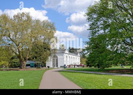 The Orangery at the Royal Botanic Gardens Kew Greater London England UK - Stock Photo