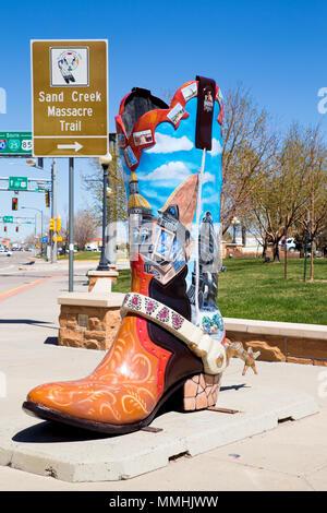 Downtown Cheyenne Wyoming Stock Photo 25298957 Alamy