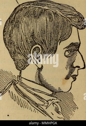 'The practical phrenologist and recorder and delineator of the character and talents of [blank], as marked by [blank] : a compendium of phreno-organic science' (1869) - Stock Photo