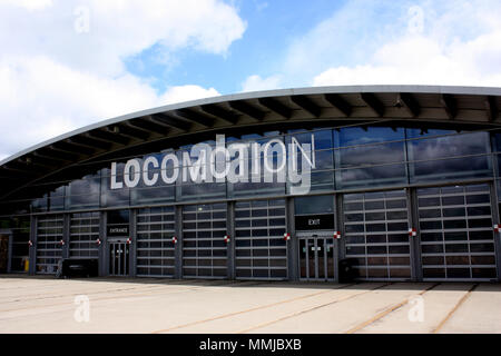 The Locomotion building at Shildon, part of the National Railway Museum - Stock Photo