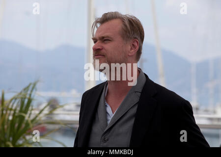 Cannes, France. 12th May 2018. Director Christopher Nolan photo call at the 71st Cannes Film Festival, Saturday 12th May 2018, Cannes, France. Photo credit: Doreen Kennedy Credit: Doreen Kennedy/Alamy Live News - Stock Photo