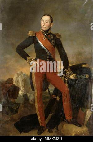 Français: Emmanuel, marquis de Grouchy, maréchal de France (1766-1847) . 1835. Emmanuel de Grouchy 2 - Stock Photo