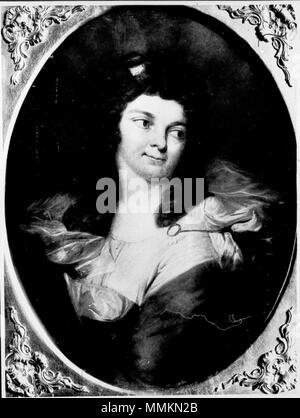 [Bildindex  der Kunst und Architektur] Frau Charlotte Heinsius, geborene Heun (1773–1826) 1791 (Alter Fritz) - Stock Photo
