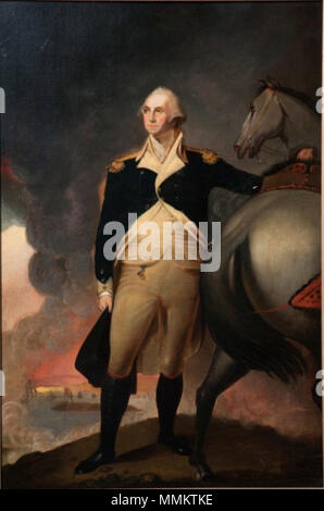 . Portrait of George Washington Dorchester Heights  . circa 1806 (original painting); copy painted in 1860; photograph taken on April 26, 2010.. copy by   Jane Stuart (1812–1888)  Description American painter  Date of birth/death 1812 1888  Location of birth/death Boston, Massachusetts Newport  Authority control  : Q16062742 VIAF:?121659800 ULAN:?500006645 LCCN:?nr90012977 RKD:?75882 WorldCat      After Gilbert Stuart (1755–1828)   Alternative names Gilbert Charles Stuart; Birth name: Gilbert Charles Stewart  Description American painter  Date of birth/death 3 December 1755 9 July 1828 - Stock Photo