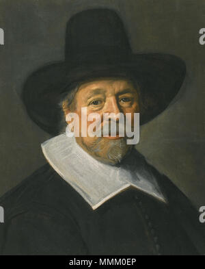 .  English: FRANS HALS, ANTWERP 1581/5 - 1666 HAARLEM, PORTRAIT OF A GENTLEMAN, PROBABLY THE REVEREND JOHN LIVINGSTON, oil on canvas laid on canvas, 58.4 by 47 cm.  Portrait of John Livingston. 22 November 2012, 09:18:11. Frans Hals (c. 1582–1666) FRANS HALS PORTRAIT OF THE REVEREND JOHN LIVINGSTON - Stock Photo