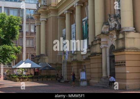 Museu de arte do Rio Grande do Sul, Museum of arts, Kunstmuseum, Porto Alegre, Rio Grande do Sul, Brazil, Brasilien - Stock Photo