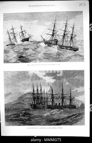 . The Illustrated London News 1873, p. 8  . 18 January 1873. Unknown ILN 1873, p. 8 - Stock Photo