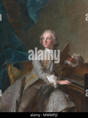 Francis Greville, Baron Brooke, later 1st Earl of Warwick (1719- . 1741.   Jean-Marc Nattier (1685–1766)   Description French painter and artist  Date of birth/death 17 March 1685 7 November 1766  Location of birth/death Paris Paris  Work period 1700s-1750s  Work location Paris  Authority control  : Q277738 VIAF:?61708615 ISNI:?0000 0000 8141 1717 ULAN:?500120754 LCCN:?n90662682 WGA:?NATTIER, Jean-Marc WorldCat Francis Greville, Baron Brooke, later 1st Earl of Warwick (1719-1773), by Jean-Marc Nattier - Stock Photo