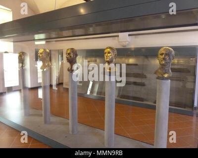 .  location or position of photographer Italy > Brescia > Via dei Musei, 81/b Bronze busts of emperors (6)   Museo di Santa Giulia    Parent institution Civic Museums of Brescia  Location Brescia  Coordinates 45°32′22.7″N, 10°13′43.93″E   Established 1998  Web page http://www.bresciamusei.com/  Authority control  : Q3868183     . 14 March 2017, 11:51:00. Mattes 2017-03 Brescia Mattes Pana (179) - Stock Photo