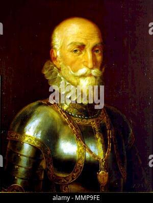 .  Español: Retrato del aristócrata y marino español Álvaro de Bazán (1526–1588).  Retrato de don Álvaro de Bazán. 1828. Alvaro de Bazan - Stock Photo