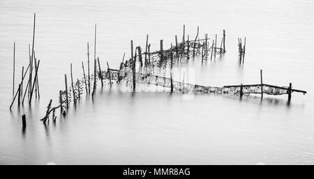 Oyster Nets In Halong Bay - Stock Photo