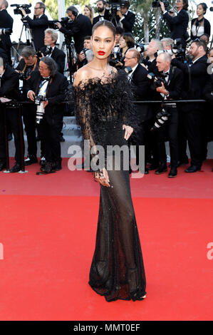 Cannes, France.. 12th May, 2018. Joan Smalls attending the 'Girls of the Sun / Les filles du soleil' premiere during the 71st Cannes Film Festival at the Palais des Festivals on May 12, 2018  in Cannes, France Credit: Geisler-Fotopress/Alamy Live News - Stock Photo