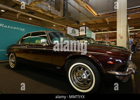 Poland, Nadarzyn, 13th May 2018: PTAK expo center second day of Oldtimer Show. ©Madeleine Ratz/Alamy Live News - Stock Photo