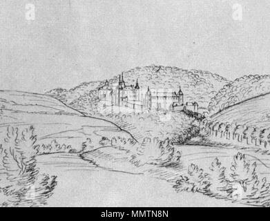 . Deutsch: Burg Schnellenberg in Attendorn, alte Zeichnung English: Castle Schnellenberg in Attendorn, old drawing  . (First half of the 18th century.   Renier Roidkin  (1684–1741)    Alternative names René Roidkin  Description Flemish painter and draughtsman  Date of birth/death 2 December 1684 13 March 1741  Location of birth/death Spa Spa or Dreiborn  Work period from 1722 until 1741  Work location Rhineland, Southern Netherlands, Spa  Authority control  : Q2144005 VIAF:?22938615 ULAN:?500100642 GND:?118837079 RKD:?322738 BurgSchnellenberg01 - Stock Photo