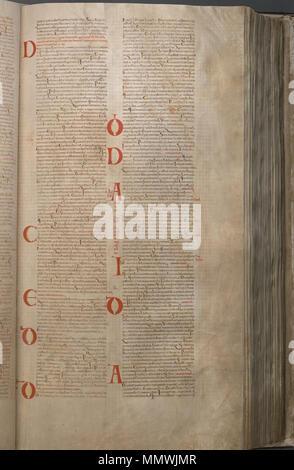 CodexGigas 161 Psalms - Stock Photo