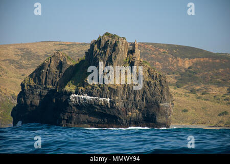 Hole-in-the-Wall, natural arch formation close to Coffee Bay, Eastern Cape Wild Coast, South Africa - Stock Photo