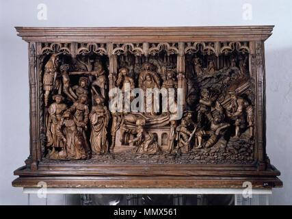 [Bildindex  der Kunst und Architektur] Douverman - Prédelle Xanten - Stock Photo