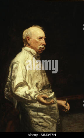 . Study of Dr. Agnew for the Agnew Clinic  . circa 1889. Dr agnew - Stock Photo