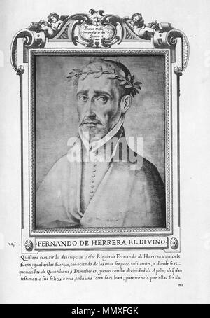 . Español: Francisco Pacheco, (1564-1644) El libro de descripción de verdaderos retratos, ilustres y memorables varones, [Sevilla, s.n., s.a.]- Real Academia de la Historia (Madrid). Signatura: 1/736  . circa 1599.   Francisco Pacheco (1564–1644)   Alternative names ????????? ??????; ????????? ??????; ??????, ?????????; Pacheco del Río; Francisco Pacheco del Rio; Francisco Pacheco; Pacheco del Rio; ????????? ???????; Pacheco; ??????????????????; Francisco Pérez del Río; Francisco Pérez Del Río  Description Spanish painter and writer Spanish artist  Date of birth/death 1564 1644  Location o - Stock Photo