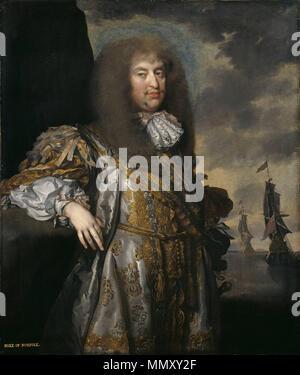 .  Deutsch: Porträt Henry Howards, 6. Duke of Norfolk (1628-1684) English: Portrait of Henry Howard, 6th Duke of Norfolk (1628-1684)  Henry Howard, 6th Duke of Norfolk. circa from 1670 until 1675. 6thDukeOfNorfolk - Stock Photo