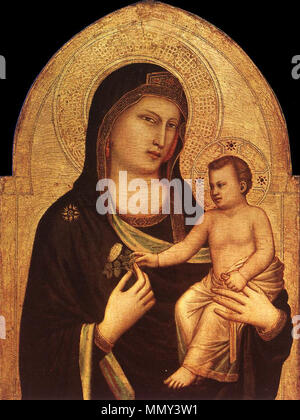 Madonna and Child. between 1320 and 1330. Giotto di Bondone - Madonna and Child - WGA09339 - Stock Photo