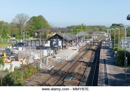 Railway station,Trowbridge, Wiltshire, England, UK - Stock Photo