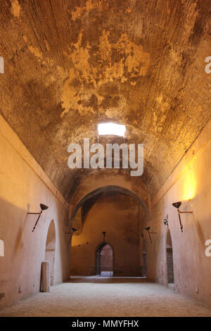 The Granaries of Moulay Ismail, Meknes, Morocco - Stock Photo