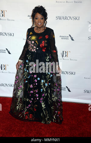 NEW YORK, NY - MAY 22: Star Jones attends the American Ballet Theatre Spring 2017 Gala at The Metropolitan Opera House on May 22, 2017 in New York City.   People:  Star Jones - Stock Photo
