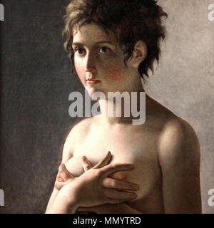 Guérin, Pierre-Narcisse - Jeune fille en bust - c. 1794 - Stock Photo