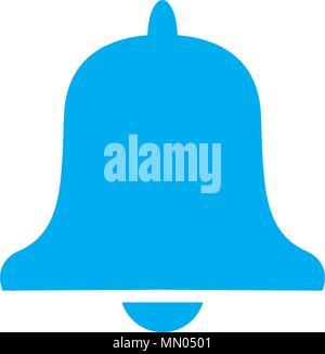 bell, alarm, alert icon vector template - Stock Photo