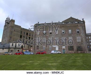 Former Baxter Brothers Mills Dundee Scotland  April 2016 - Stock Photo