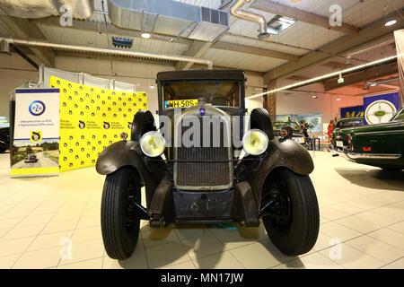 Poland, Nadarzyn, 13th May 2018: PTAK expo center second day of Oldtimer Show. ©Madeleine Ratz/Alamy Live News - Stock Photo