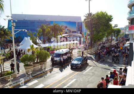 Cannes, France. 12th May, 2018. Cannes, France - May 12, 2018: Cannes Film Festival Atmosphere | usage worldwide Credit: dpa/Alamy Live News - Stock Photo