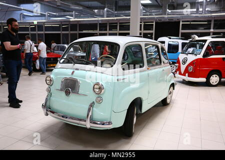 Warsaw/Nadarzyn, Poland. 13th May, 2018. PTAK expo center second day of Oldtimer Show. Credit: Madeleine Lenz/Pacific Press/Alamy Live News - Stock Photo