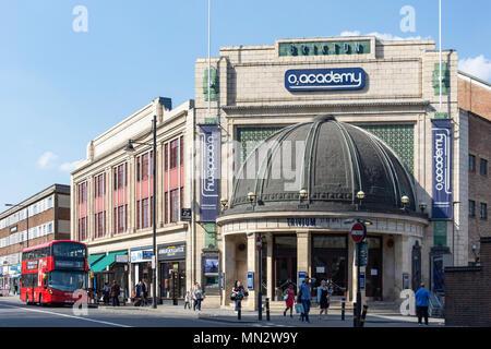 O2 Academy Brixton, Stockwell Road, Brixton, London Borough of Lambeth, Greater London, England, United Kingdom - Stock Photo