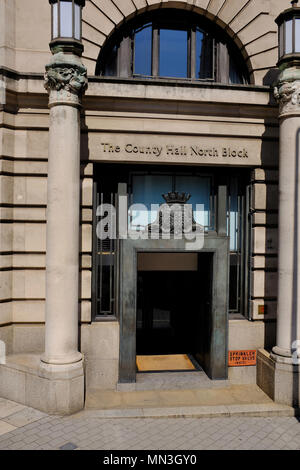 Country Hall North Block - York Road London Westminster - Stock Photo