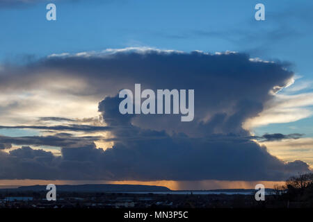 Cloud formation - Stock Photo