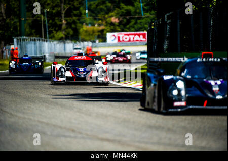 EUROPEAN LE MANS SERIES 2018 SECOND ROUND MONZA - Stock Photo