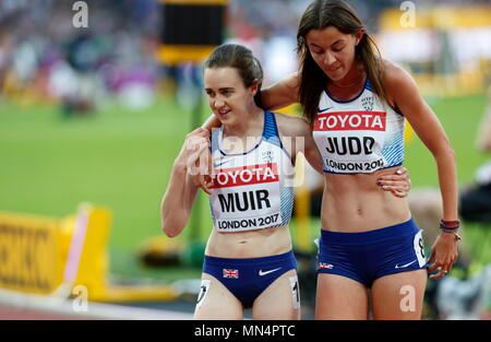 LONDON, ENGLAND - AUGUST 05: during day two of the 16th IAAF World Athletics Championships London 2017 at The London Stadium on August 5, 2017 in London, United Kingdom.  --- Image by © Paul Cunningham - Stock Photo