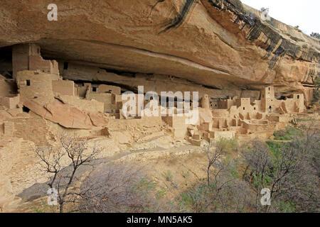 Cliff Palace, Mesa Verde National Park, Colorado - Stock Photo