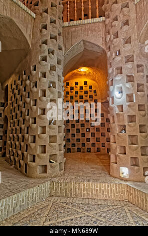 Interior Of A Pigeon House Meybod Yazd Province Iran