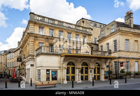 The Theatre Royal in Bath taken in Sawclose, Bath, Somerset, UK on 13 May 2018 - Stock Photo